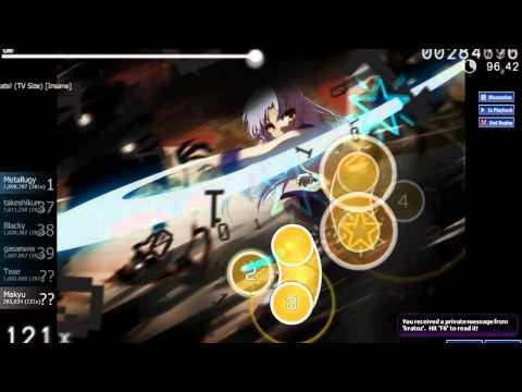 【Osu!】Angel Beats (Lia) - My Soul, Your Beats! (TV Size) [Insane]