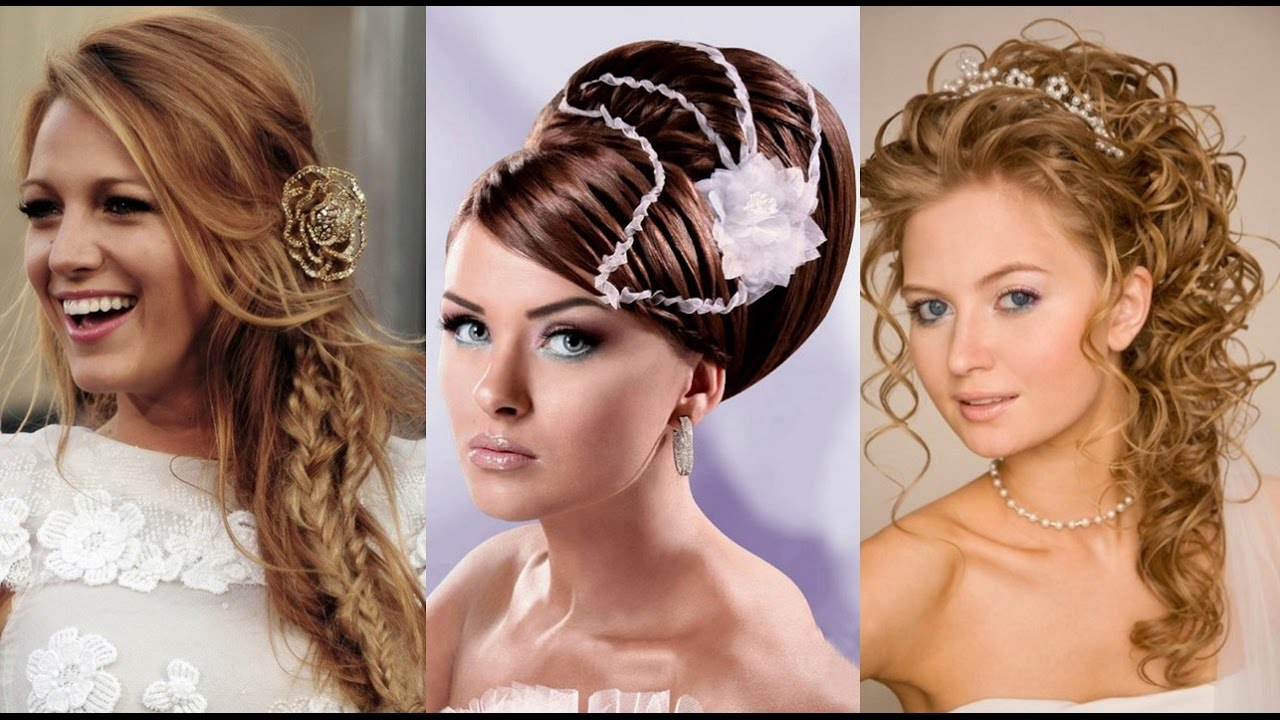 bridal hairstyle 2016 - youtube