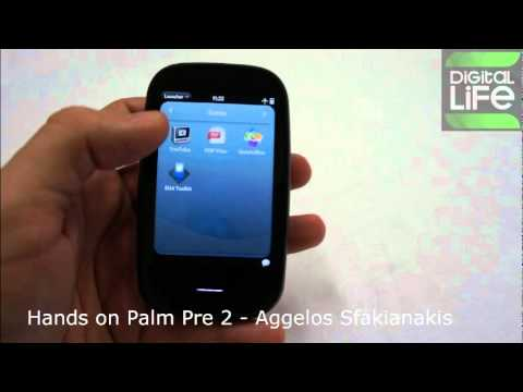 Hands on Palm Pre 2