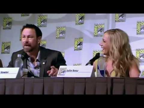 Jessie Rath & Cast of Defiance on Tarr Family Values & Bath s  San Degio Comic Con