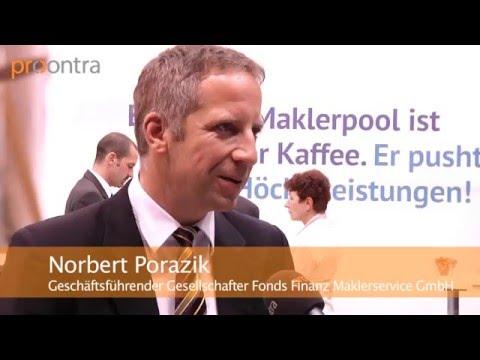 Fonds-Finanz-Chef Norbert Porazik über FinTechs und App in der Versicherungsbranche