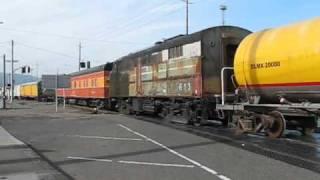 Historic Railroad Equipment Moving!