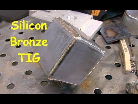 Tig Welding/Brazing a Steel Cube part2