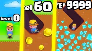 IS THIS THE HIGHEST LEVEL STRONGEST DIG MASTER EVOLUTION? (9999+ DRILL DIAMONDS) l Dig Master