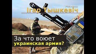 За что воюет украинская армия?