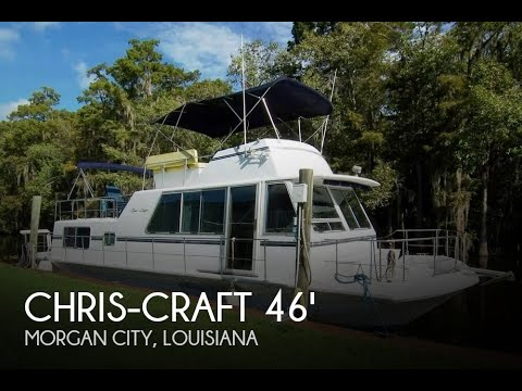 Used 1985 Chris-Craft 46 Aqua Home Cavalier - Twin Diesels for sale in  Morgan City, Louisiana