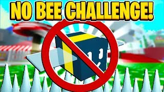 NO BEE CHALLENGE HARDCORE MODE In Roblox Bee Swarm Simulator
