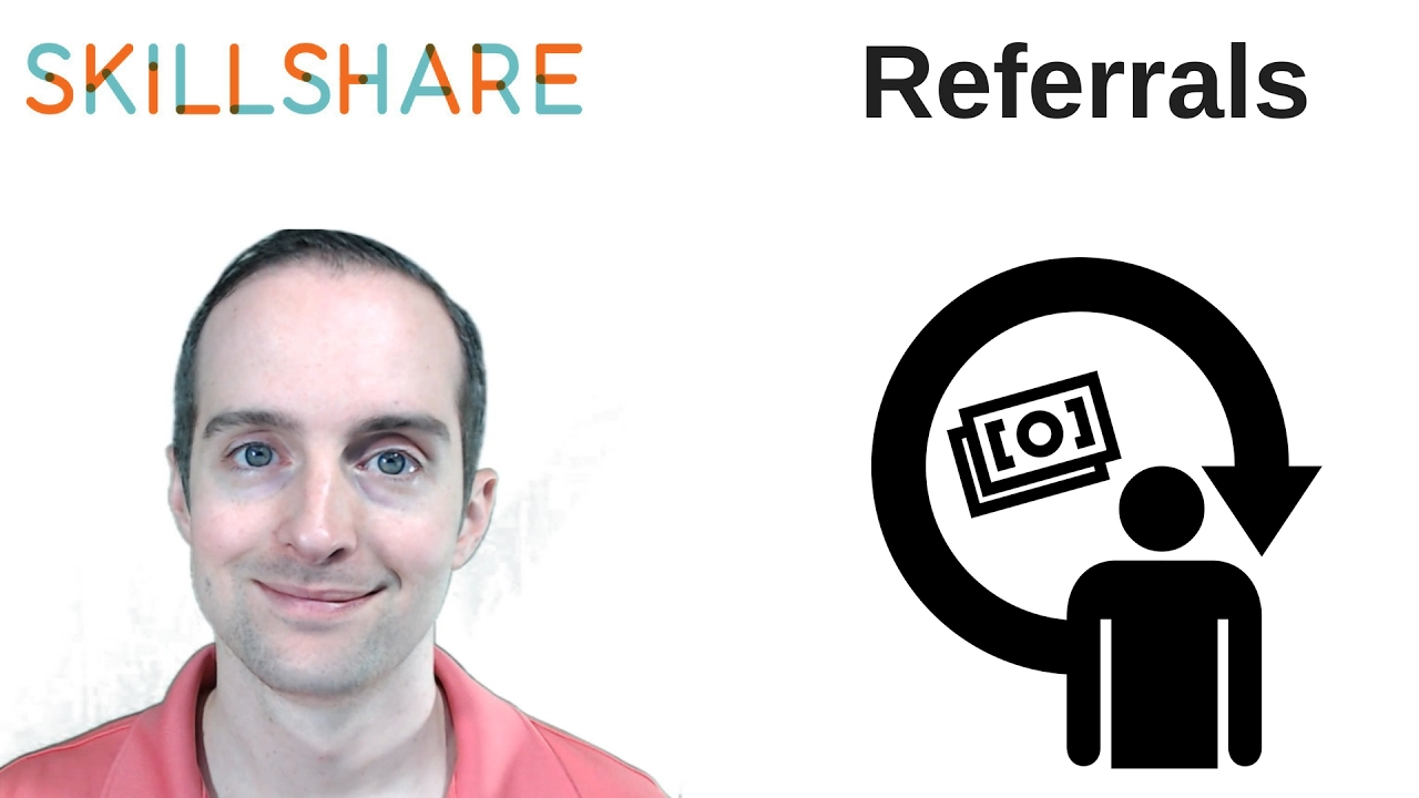 Skillshare Premium Referral System for 63 Converted Sign Ups in January 2017
