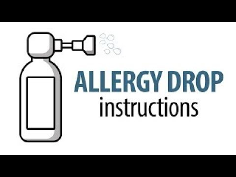 How to give your pet allergy drops