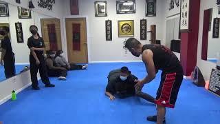 Kung Fu Wrestling Self-Defense Challenge
