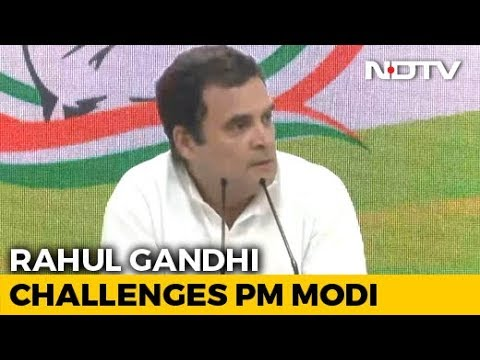 'Unprecedented Event': Rahul Gandhi Mocks PM Modi's Briefing