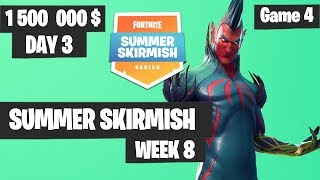 Fortnite Summer Skirmish Week 8 Day 3 Game 4 Highlights PAX WEST
