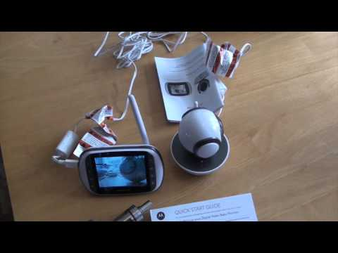 Motorola MBP853 Connect  Baby Monitor Review