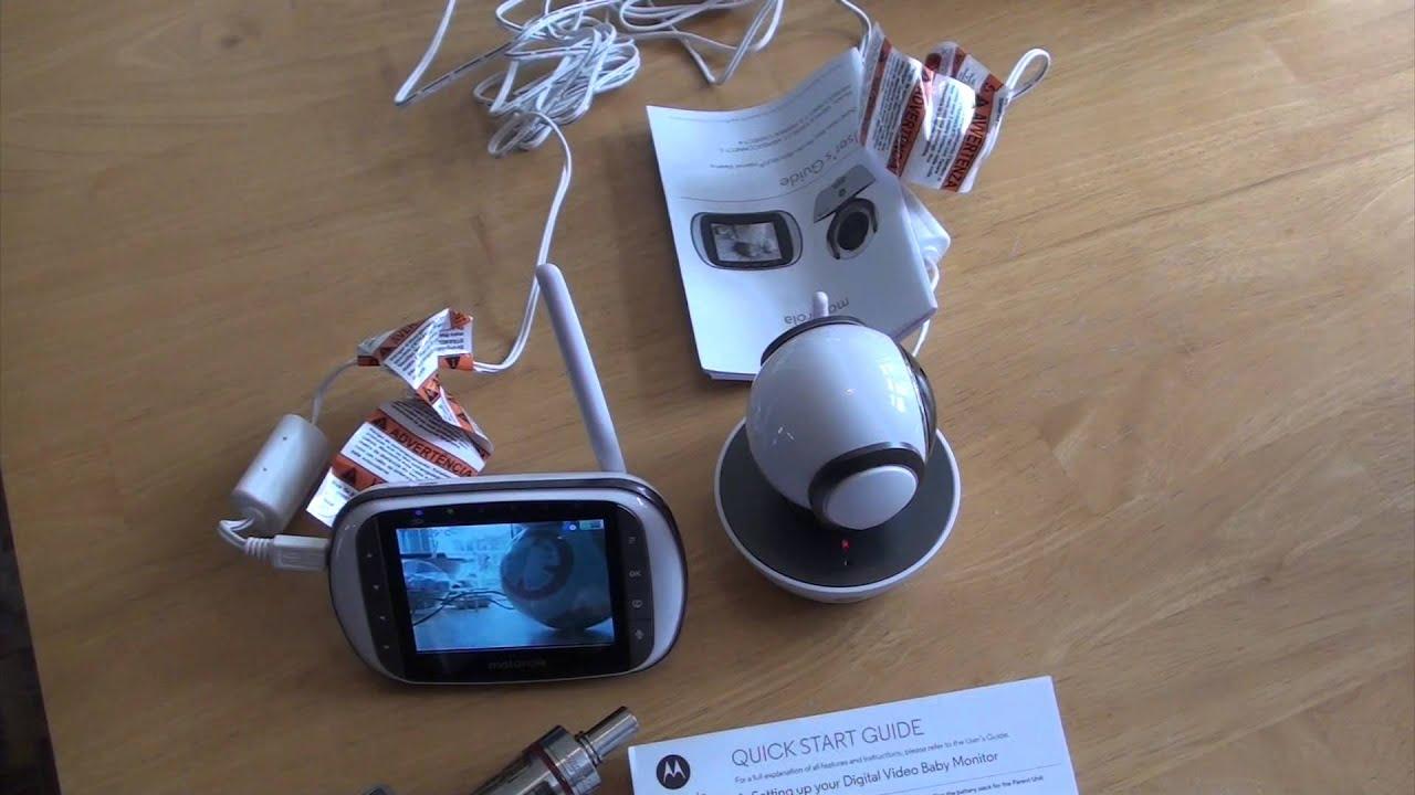 cbdb59c9bec Motorola MBP853 Connect Baby Monitor Review - YouTube