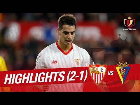 Resumen de Sevilla FC vs Cádiz CF (2-1)