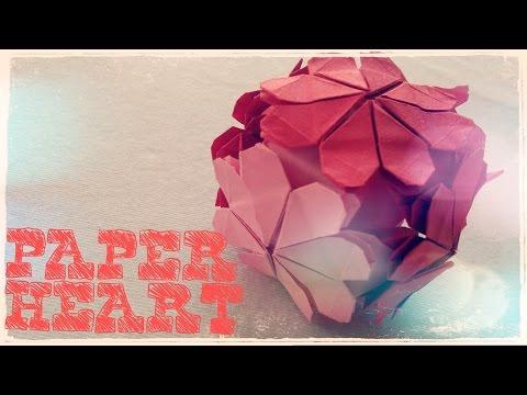 origami-easy---origami-heart-ball