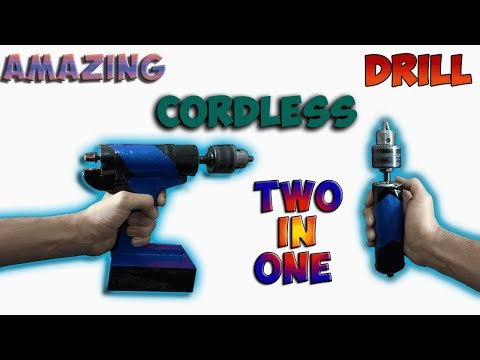 How to make cordless drill
