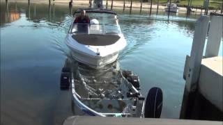 Signature Boat Launch & Retrieve on Supa rolla Trailer