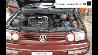 Tiembla y se apaga (Volkswagen Golf) Parte 2 (Ahora se queda acelerado xd)