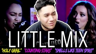 Little Mix - Holy Grail/Counting Stars/Smells Like Teen Spirit in the Live Lounge REACTION!!!