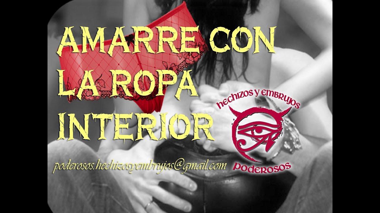 AMARRE CON LA ROPA INTERIOR - YouTube 132b64eb3439