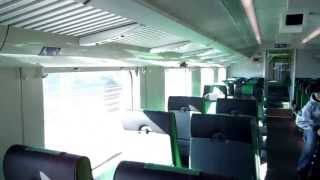 Finnish train experience: Inside Edo- class cabcar! (IC2 952, Karjaa- Helsinki)