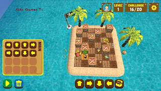 Learn to code with el Chavo -Pirat Dreams : Sequences 1 - Coding Game for Kids