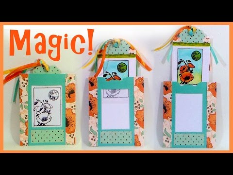 Magic Card Tutorial: Stamp School!