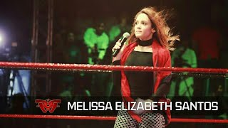 Melissa Santos - World's best Ring Announcer in Pakistan - Pro Wrestling PWE Islamabad
