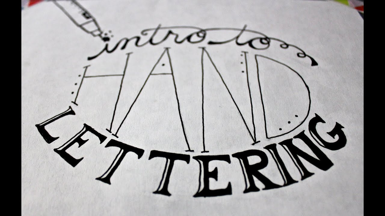 Where to Learn Hand Lettering Online ~ Creative Market Blog