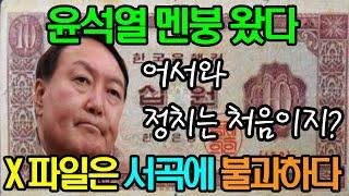 """""""윤석열 어서와~ 정치는 처음이지?""""…"""