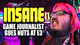 INSANE Game Journalist Loses Their Mind at E3 2019!
