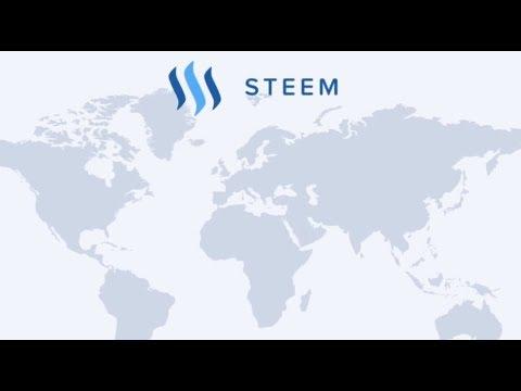Was ist Steem? Blockchain Social Media Plattform Steemit Promo deutsch