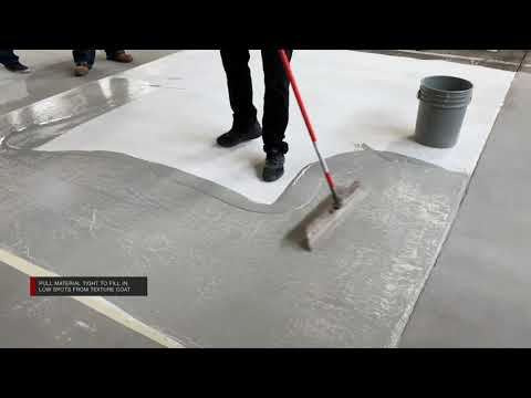 New Concrete Overlay Technique | Leggari Products