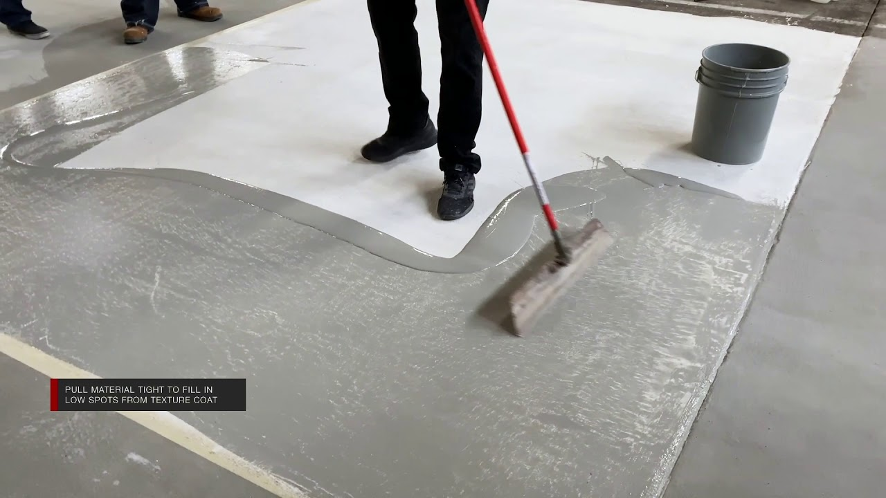 New Concrete Overlay Technique Leggari Products Youtube