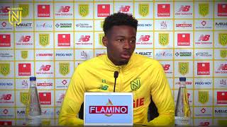 VIDEO: Thomas Basila avant FC Nantes - Olympique Lyonnais