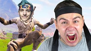 NOOB wird NINJA in Fortnite ..