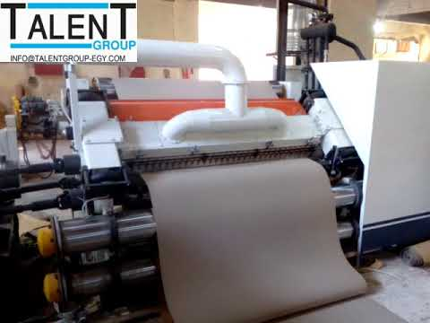 corrugated single facer  machine with Electrical - Oil Heating  from Tal...