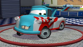 Cars Toon Mater's Tall Tales - Tokyo Mater Game