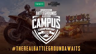 PUBG Mobile | Oppo F9 Pro Campus Championship India 2018 | Grand Finals | English