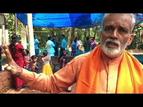Swamiji speaking at Shankar Mahadeva temple, Malappuram