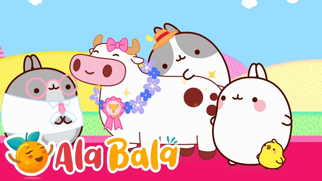 Molang - Ferma (Ep. 78) Desene animate pentru copii de grădiniță AlaBala
