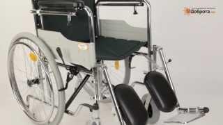 Видео-обзор инвалидного кресла-коляски с высокой спинкой Доброта Extra Support(http://www.dobrota.ru/shop/UID_6827_kreslo_kolyaska_invalidnaya_dobrota_extra_support.html Складная кресло-коляска со съемным подголовником, ..., 2013-07-28T09:53:45.000Z)