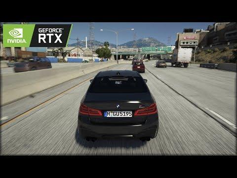 ◤ GTA V 8k Resolution ✪ BMW M5 Competition - BRUTAL Sound 🔥 GEFORCE RTX™ 2080 Ti & i9-9900k