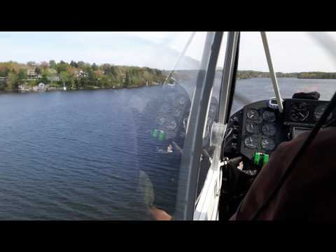 Landing in Lake Charles, Waverly N.S.Monday May 29 2017 ( Rans S7 Amphibs)