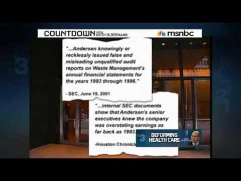Countdown Investigates --- United Health Group