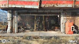 Игрок пробегает всю карту по диагонали Fallout 4 за 11 минут