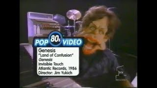 VH1's Pop-Up Video Genesis - Land of Confusion (1986)