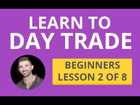 Learn Level 2 + Candles + Volume + T&S - Beginners lesson 2