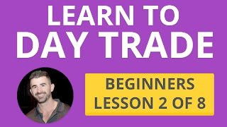 Learn Level 2 + Candles + Volume + T&S - Beginners lesson 2 of 8